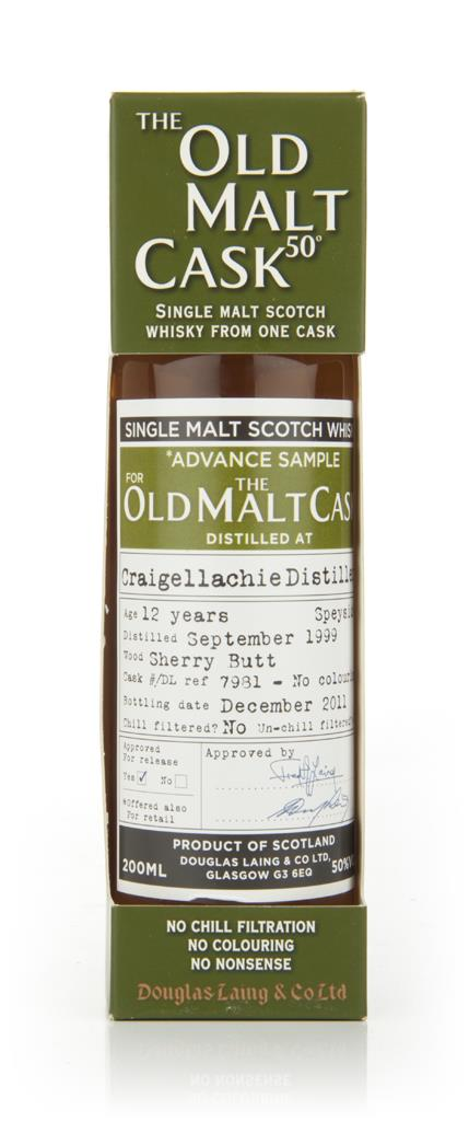 Craigellachie 12 Year Old 1999 - Old Malt Cask (Douglas Laing) Single Malt Whisky