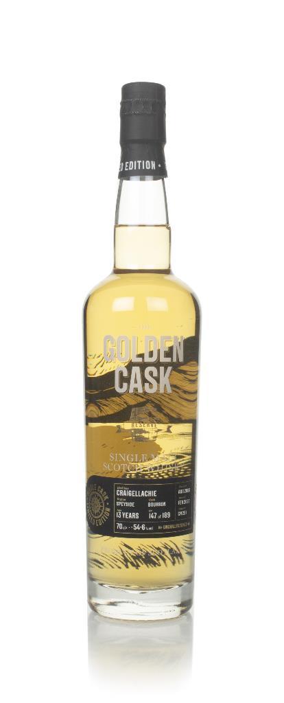 Craigellachie 13 Year Old 2006 (cask CM257) - The Golden Cask (House o Single Malt Whisky