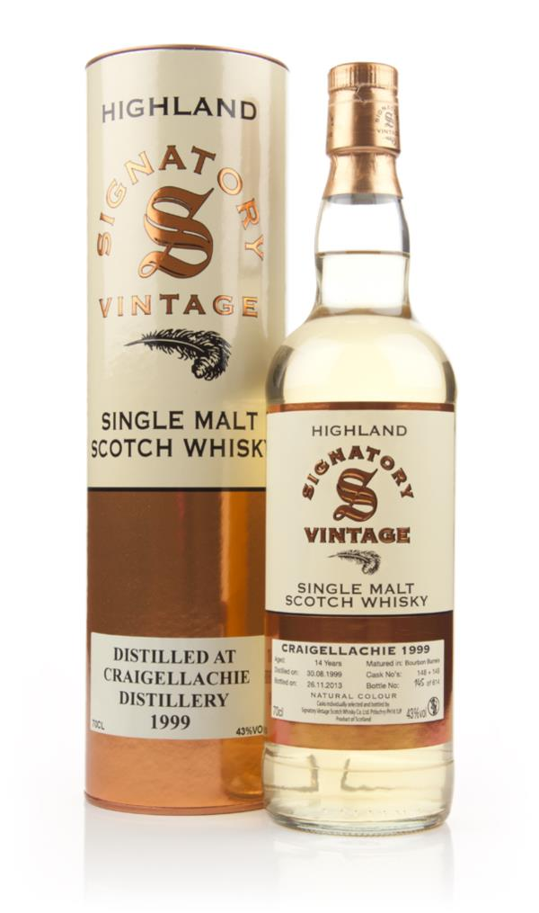 Craigellachie 14 Year Old 1999 (cask 148+149) (Signatory) Single Malt Whisky