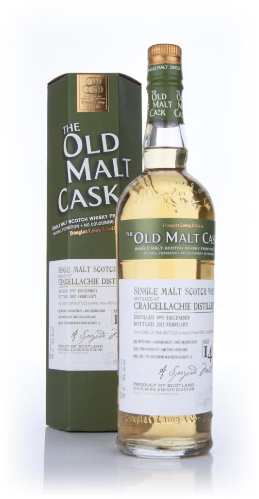 Craigellachie 14 Year Old 1997 - Old Malt Cask (Douglas Laing) Single Malt Whisky