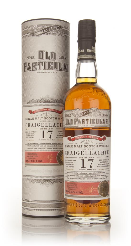 Craigellachie 17 Year Old 1995 (cask 10052) - Old Particular (Douglas Single Malt Whisky
