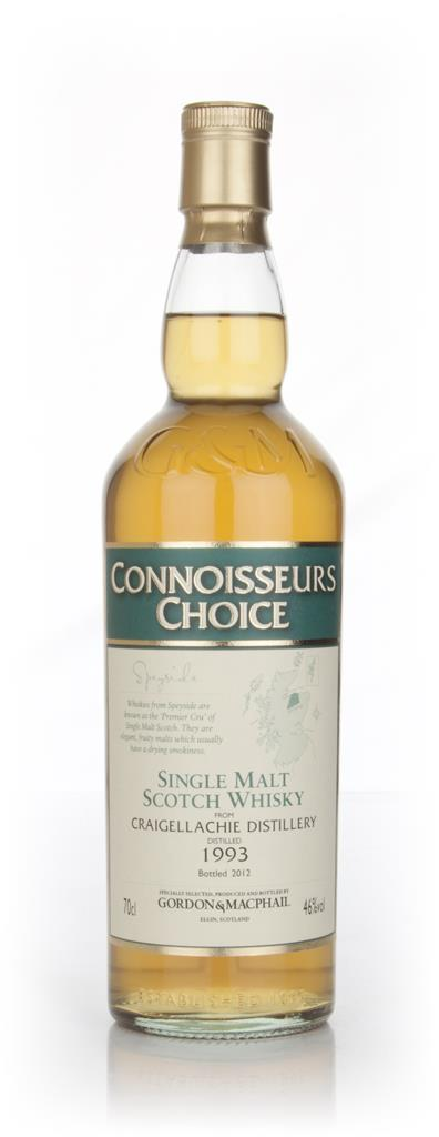Craigellachie 1993 - Connoisseurs Choice (Gordon and MacPhail) Single Malt Whisky