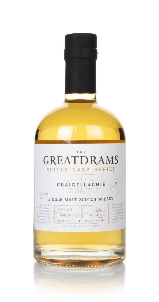 Craigellachie 7 Year Old 2013 - Single Cask Series (GreatDrams) Single Malt Whisky