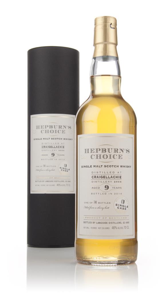 Craigellachie 9 Year Old 2004 - Hepburn's Choice (Langside) Single Malt Whisky