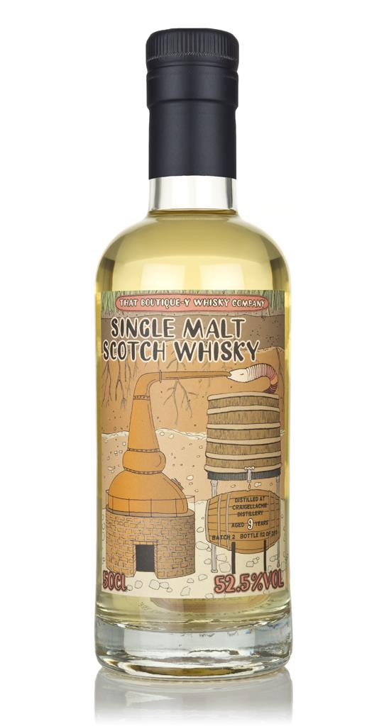 Craigellachie 9 Year Old - Batch 2 (That Boutique-y Whisky Company) Single Malt Whisky