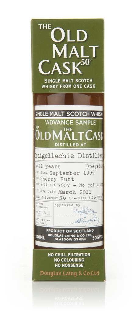 Craigellachie 11 Year Old 1999 - Old Malt Cask (Douglas Laing) Single Malt Whisky