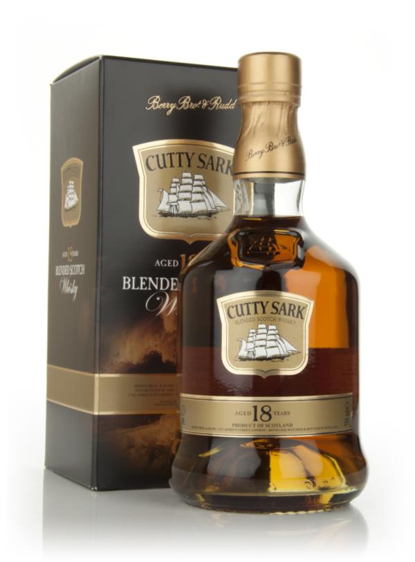 Cutty Sark 18 Year Old Blended Whisky