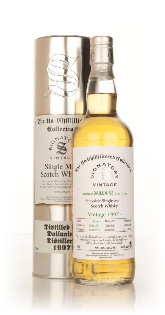 Dailuaine 15 Year Old 1997 (casks 6018+6020) - Un-Chillfiltered (Signa Single Malt Whisky