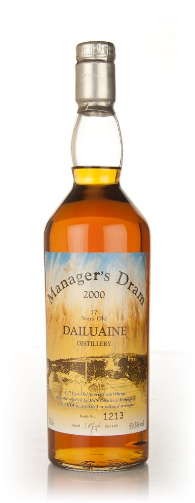 Dailuaine 17 Year Old - Managers Dram Single Malt Whisky