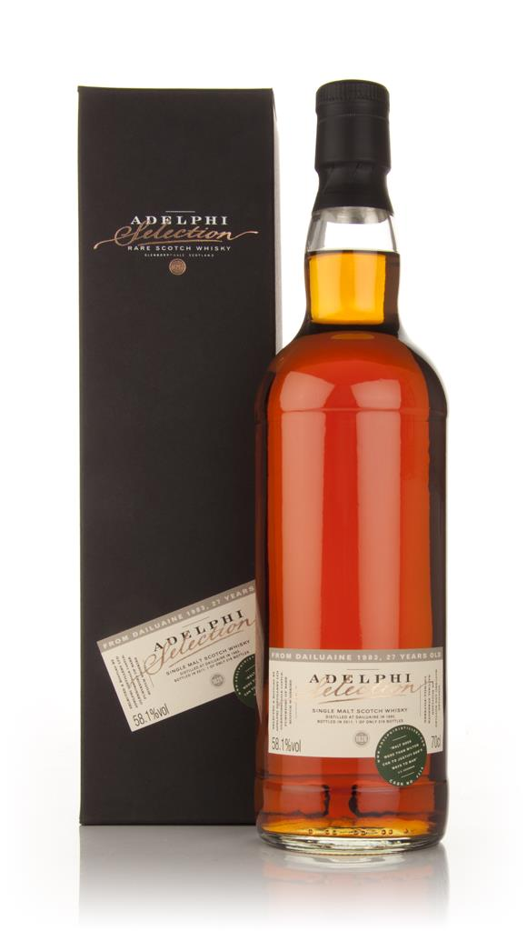 Dailuaine 27 Year Old 1983 (Adelphi) Single Malt Whisky