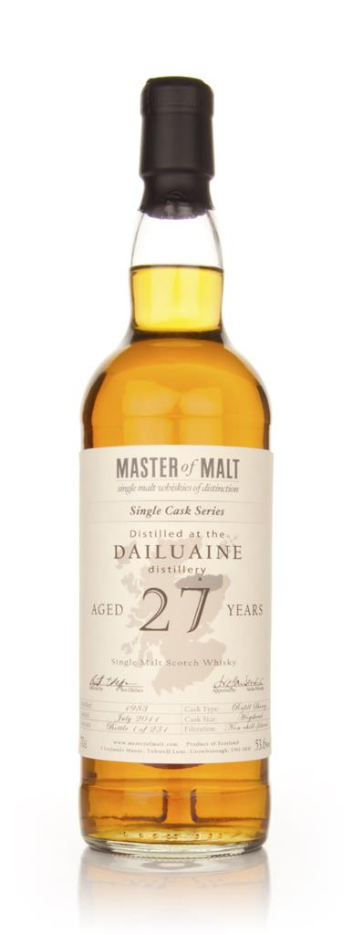 Dailuaine 27 Year Old 1983  Single Cask (Master of Malt) Single Malt Whisky