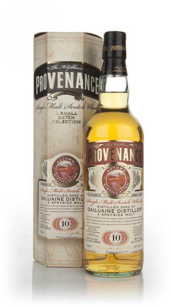 Dailuaine 10 Year Old 2002 - Provenance (Douglas Laing) Single Malt Whisky