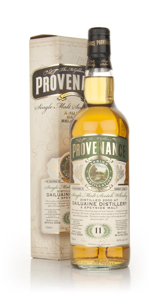 Dailuaine 11 Year Old 2000 Sherry - Provenance (Douglas Laing) Single Malt Whisky