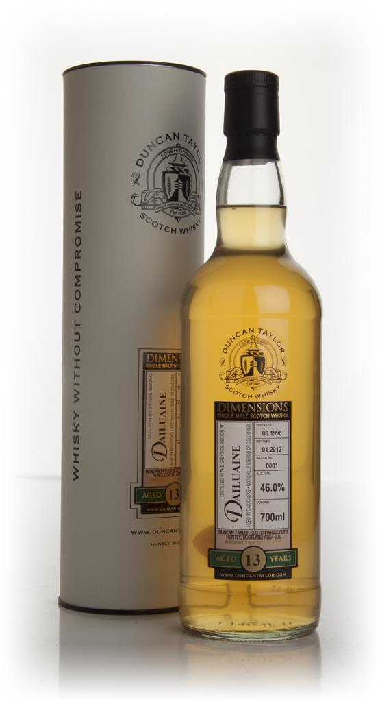 Dailuaine 13 Year Old 1998 - Dimensions (Duncan Taylor) Single Malt Whisky
