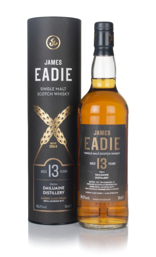 Dailuaine 13 Year Old 2007 (cask 3/1) - James Eadie Single Malt Whisky