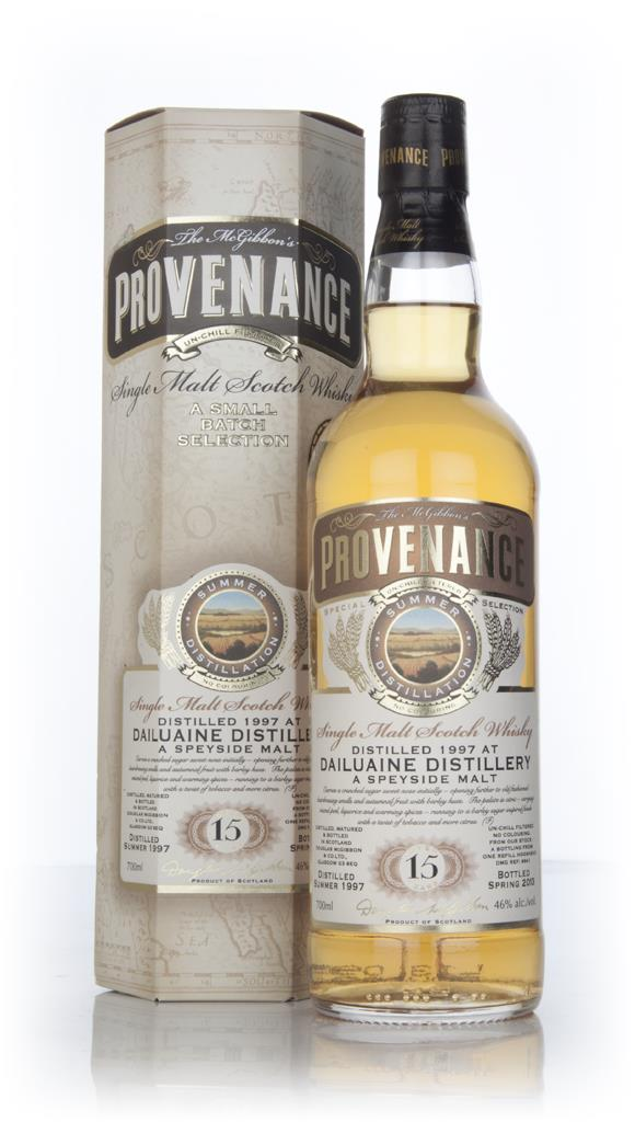 Dailuaine 15 Year Old 1997 (cask 9641) - Provenance (Douglas Laing) Single Malt Whisky
