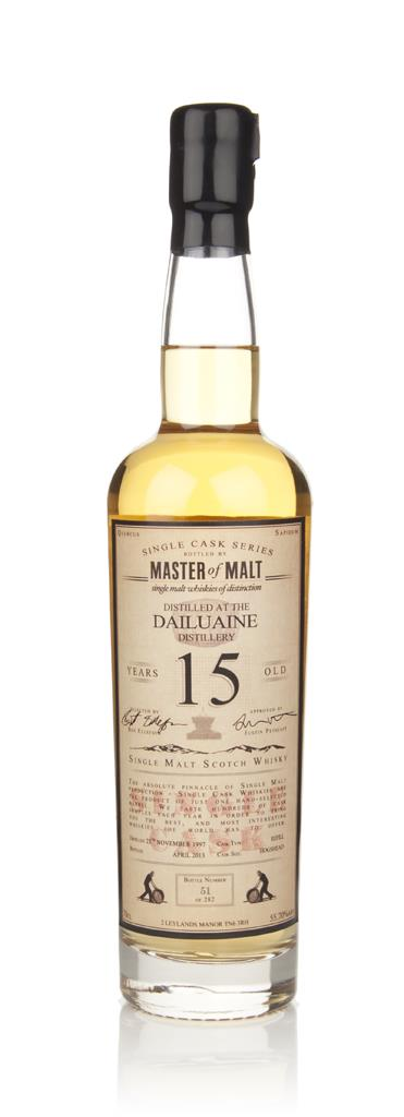 Dailuaine 15 Year Old 1997 - Single Cask (Master of Malt) Single Malt Whisky