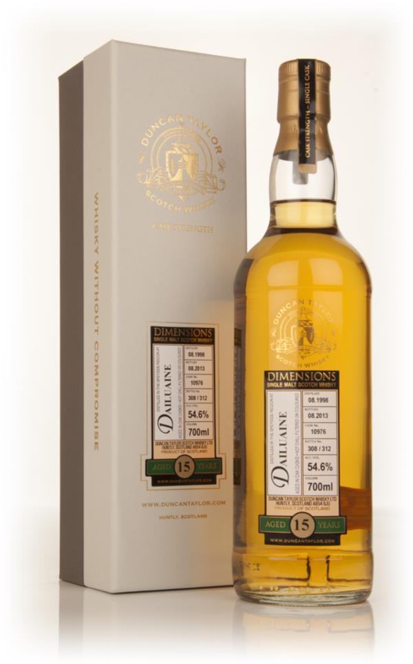 Dailuaine 15 Year Old 1998 (cask 10976) - Dimensions (Duncan Taylor) Single Malt Whisky