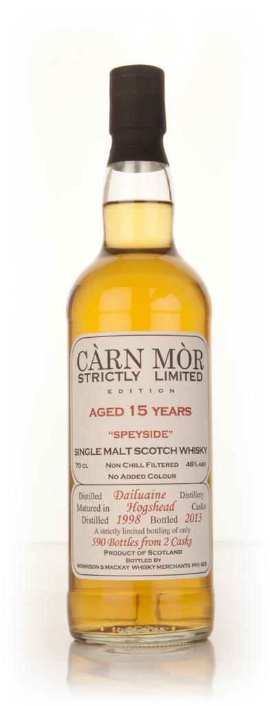 Dailuaine 15 Year Old 1998 - Strictly Limited (Carn Mor) Single Malt Whisky
