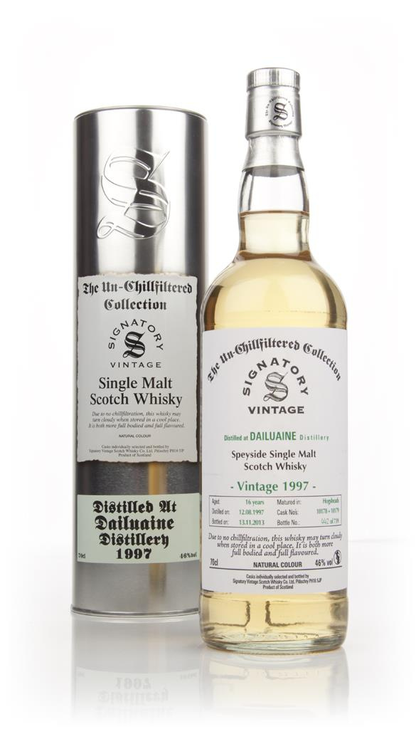 Dailuaine 16 Year Old 1997 (cask 10178-10179) - Un-chillfilltered (Sig Single Malt Whisky