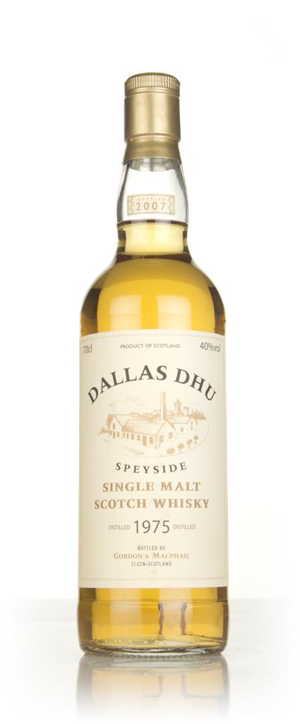 Dallas Dhu 1975 (Gordon and MacPhail) Single Malt Whisky
