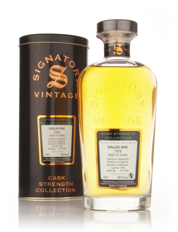 Dallas Dhu 30 Year Old 1980 - Cask Strength Collection (Signatory) Single Malt Whisky