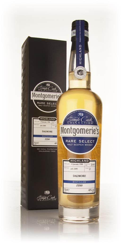 Dalmore 19 Year Old 1990 - Rare Select (Montgomeries) Single Malt Whisky