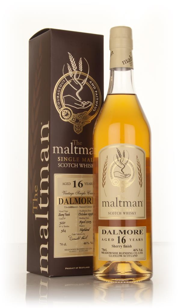 Dalmore 16 Year Old 1996 (cask 3221) (The Maltman) Single Malt Whisky