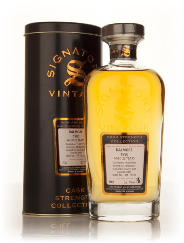 Dalmore 22 Year Old 1990 (cask 9429) - Cask Strength Collection (Signa Single Malt Whisky