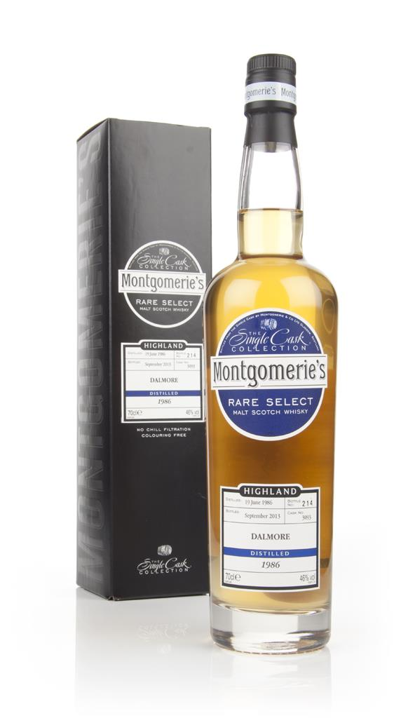 Dalmore 27 Year Old 1986 (cask 3093) - Rare Select (Montgomerie's) Single Malt Whisky
