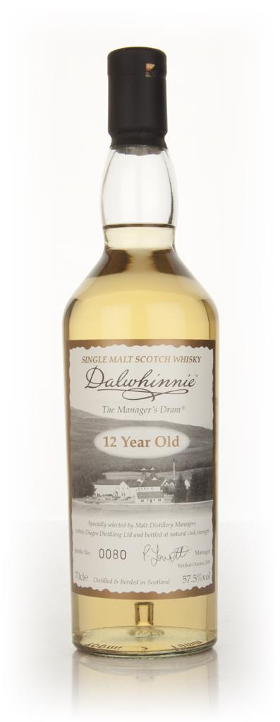 Dalwhinnie The Managers Dram Single Malt Whisky