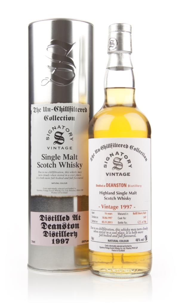 Deanston 16 Year Old 1997 (cask 1347) - Un-Chillfiltered (Signatory) Single Malt Whisky