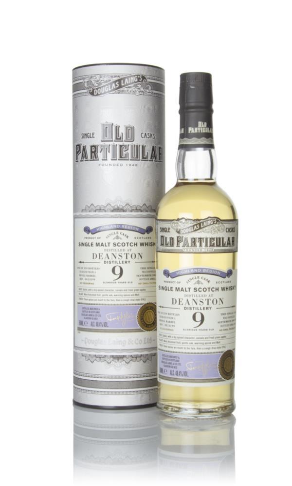Deanston 9 Year Old 2009 (cask 13199) - Old Particular (Douglas Laing) Single Malt Whisky