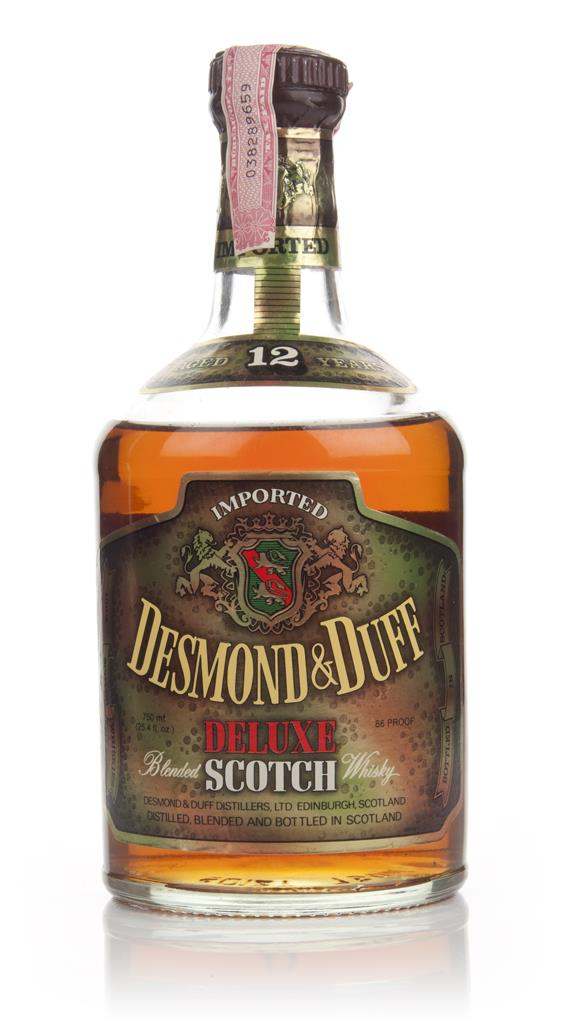 Desmond & Duff 12 Year Old Deluxe Blended Scotch Whisky - 1970s Blended Whisky