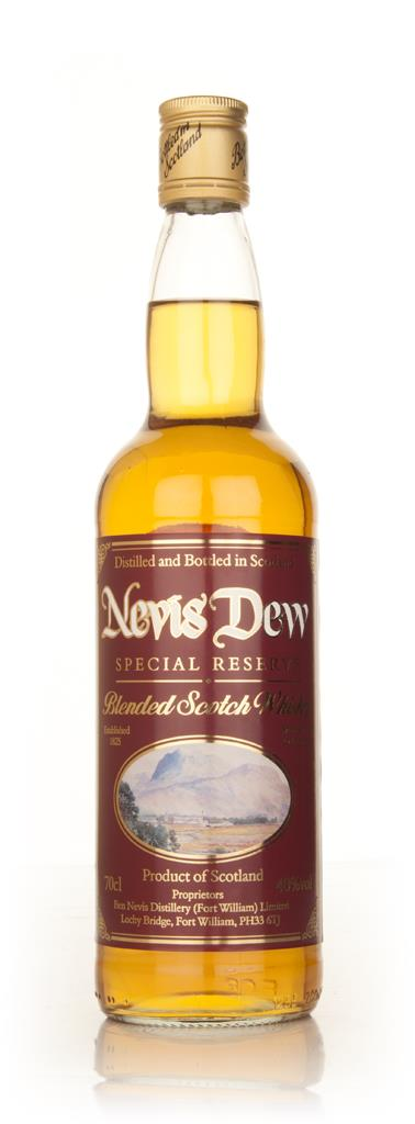 Dew of Ben Nevis Special Reserve Blended Whisky