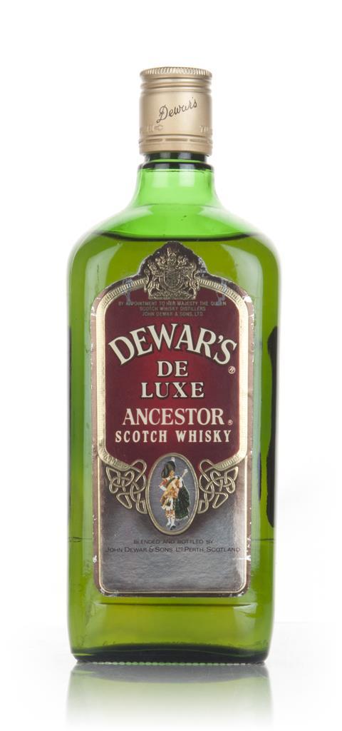 Dewars Ancestor De Luxe - 1970s Blended Whisky