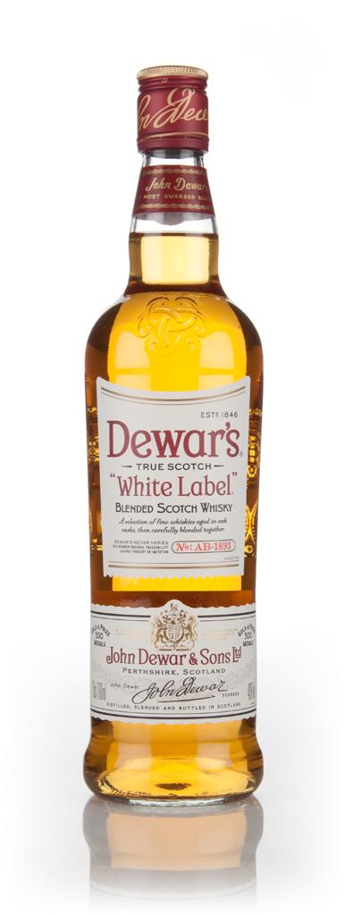 Dewars White Label Blended Whisky