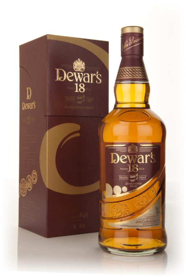 Dewars 18 Year Old Double Aged Blended Whisky