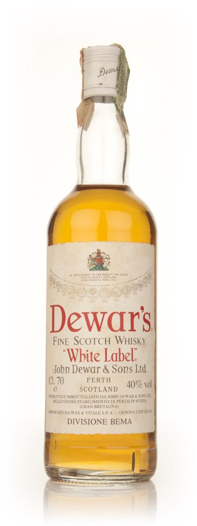 Dewars Blended Scotch Whisky - 1970s Blended Whisky