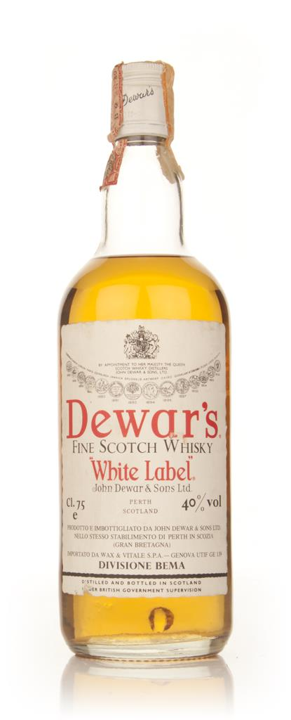 Dewars Blended Scotch Whisky 75cl - 1970s Blended Whisky