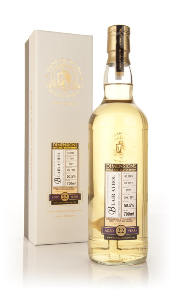Blair Athol 22 Year Old 1989 Dimensions (Ducan Taylor) Single Malt Whisky