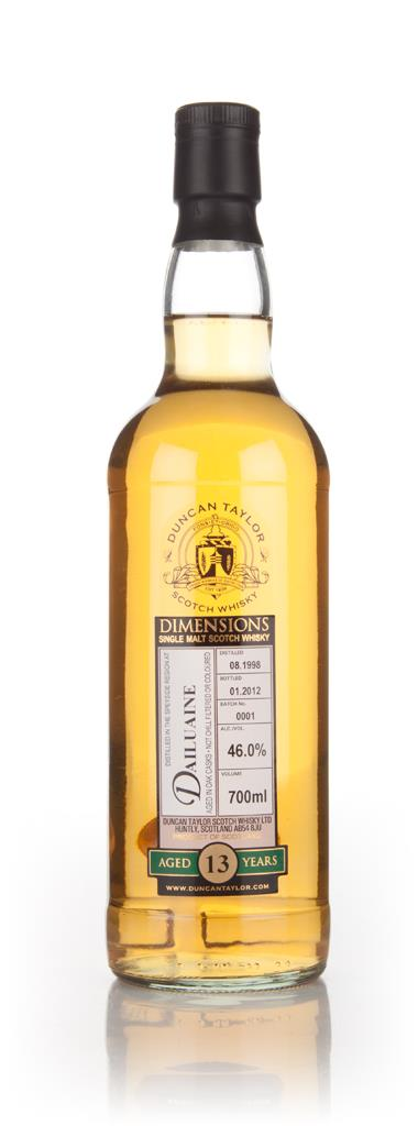 Dailuanie 13 Year Old 1998 - Dimensions (Duncan Taylor) Single Malt Whisky