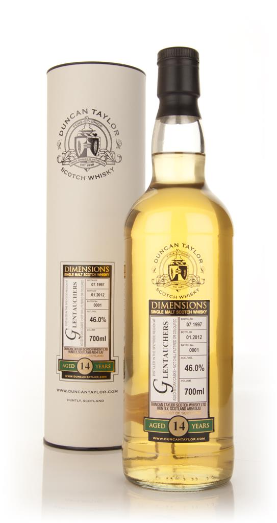 Glentauchers 14 Year Old 1997 - Dimensions (Duncan Taylor) Single Malt Whisky