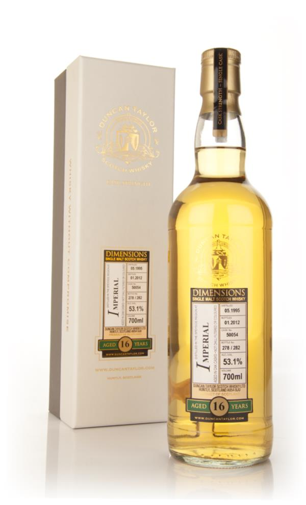 Imperial 16 Year Old 1995 - Dimensions (Duncan Taylor) Single Malt Whisky