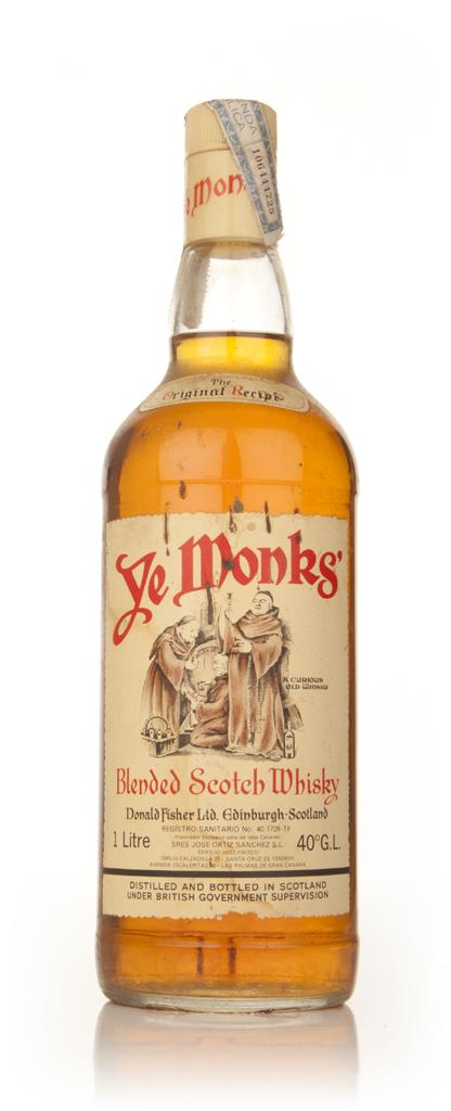 Ye Monks Blended Scotch Whisky - 1970s Blended Whisky