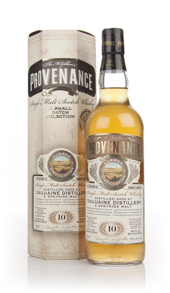 Dailuaine 10 Year Old 2003 (cask 10181) - Provenance (Douglas Laing) Single Malt Whisky
