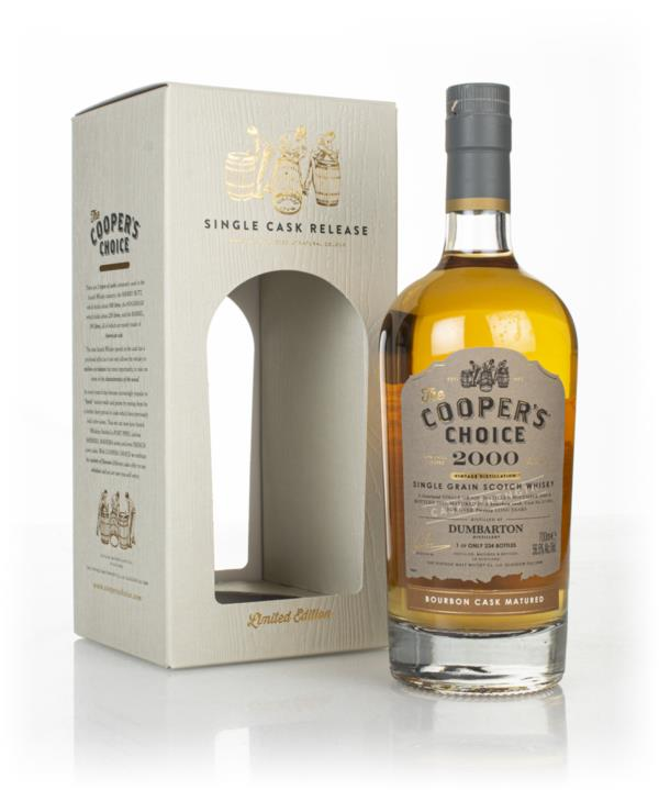 Dumbarton 20 Year Old 2000 (cask 211097) -  The Cooper's Choice (The V Grain Whisky
