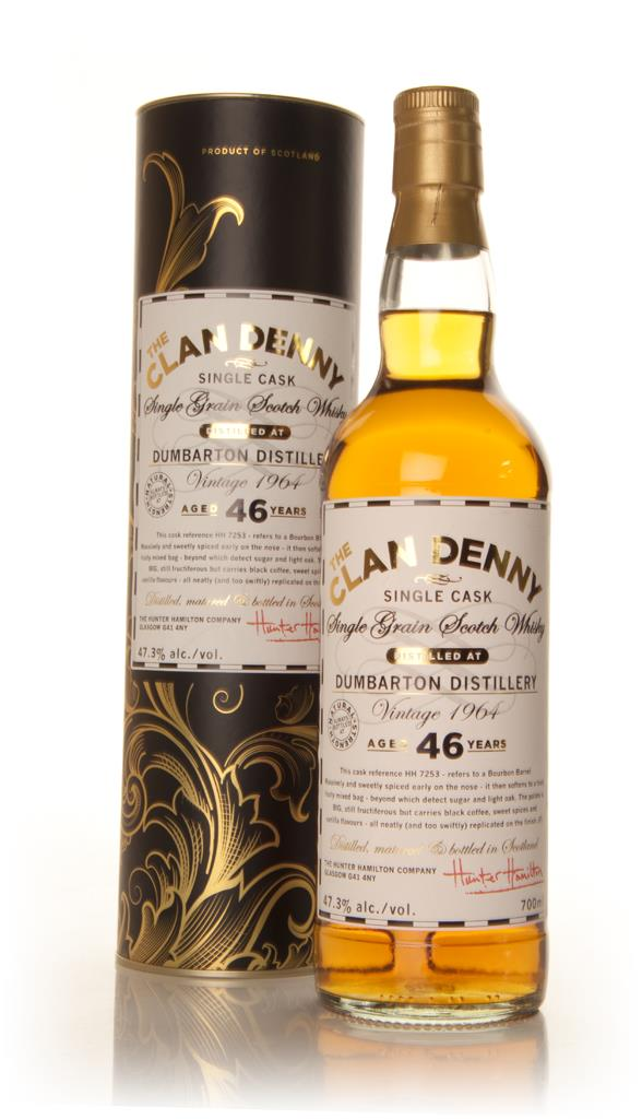 Dumbarton 46 Year Old 1964 - The Clan Denny (Douglas Laing) Grain Whisky