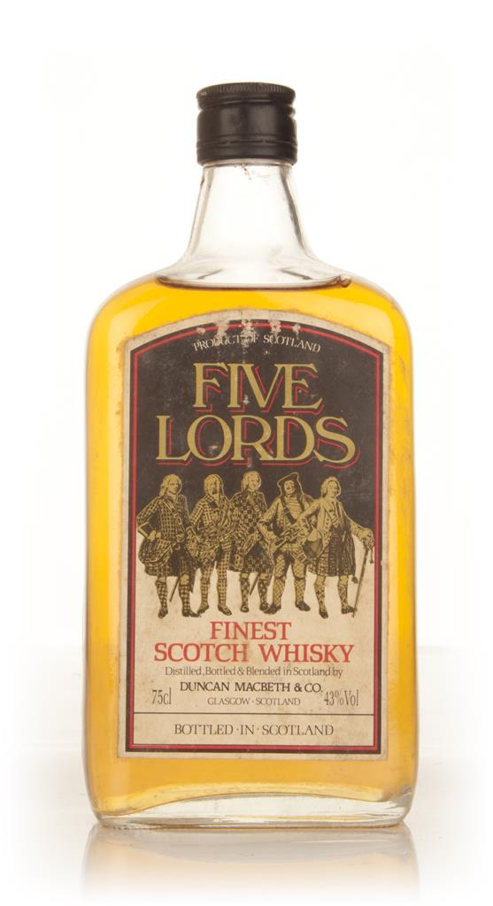 Five Lords Finest Scotch Whisky - 1970s Blended Whisky