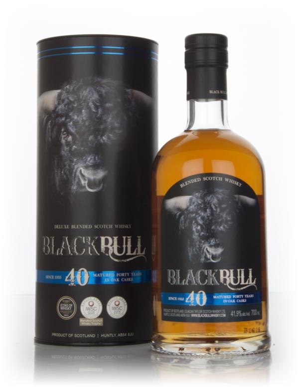 Black Bull 40 Year Old - 4th Release (Duncan Taylor) Blended Whisky